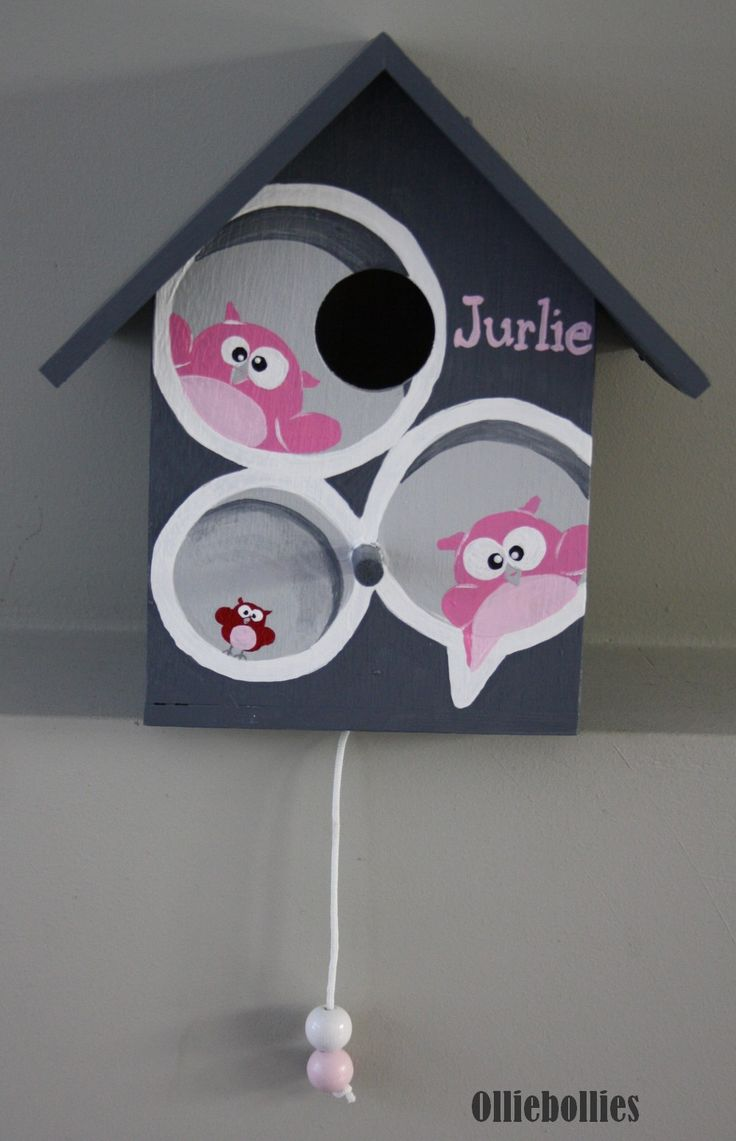 #muziekhuisje #babykamer naar aanleiding van het geboortekaartje www.olliebollies.nl