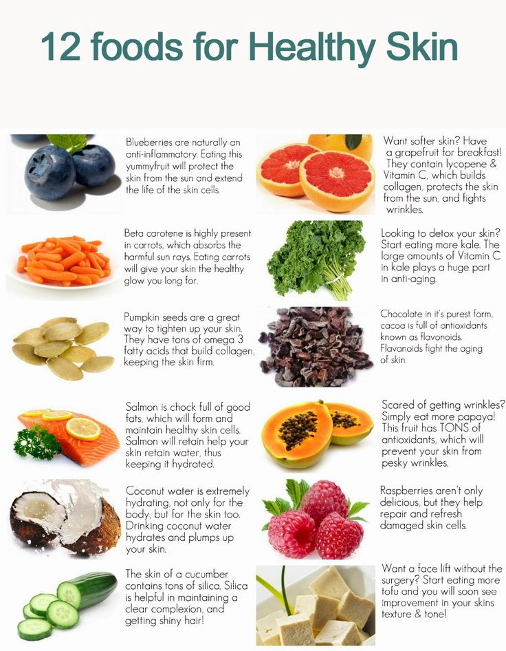 78 best food for healthy skin images on pinterest healthy eating foods for healthy skin forumfinder Images