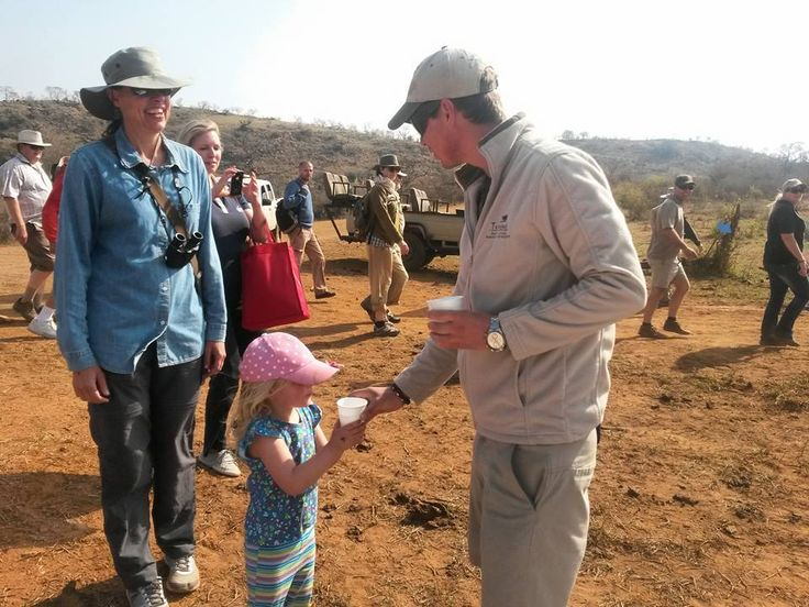 Rangers assisting with the Rhino walk supporting Rhino poaching  Photo Credit : Chantelle Terblanche