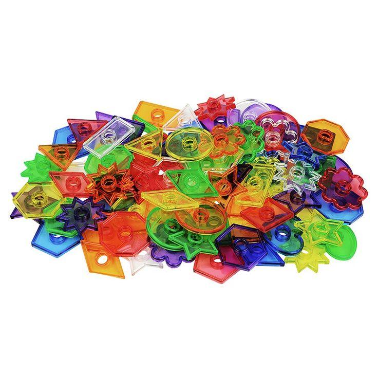Set de 144 piezas con 12formas diferentes en 6 colores y con 12 cordones, perfecto para crear patrones. Es ideal para el desarrollo de los niños más pequeños de las habilidades motrices finas, y los conceptos de patrón, la secuencia, o clasificar y contar. Una vez que sean más grandes, los niños empezarán a reconocer el color y la forma. Incluye 144 piezas aproximadamente de 12 formas diferentes: cuadrados, círculos, triángulos, rombos, corazones, estrellas, flores... En colores 6 colores…