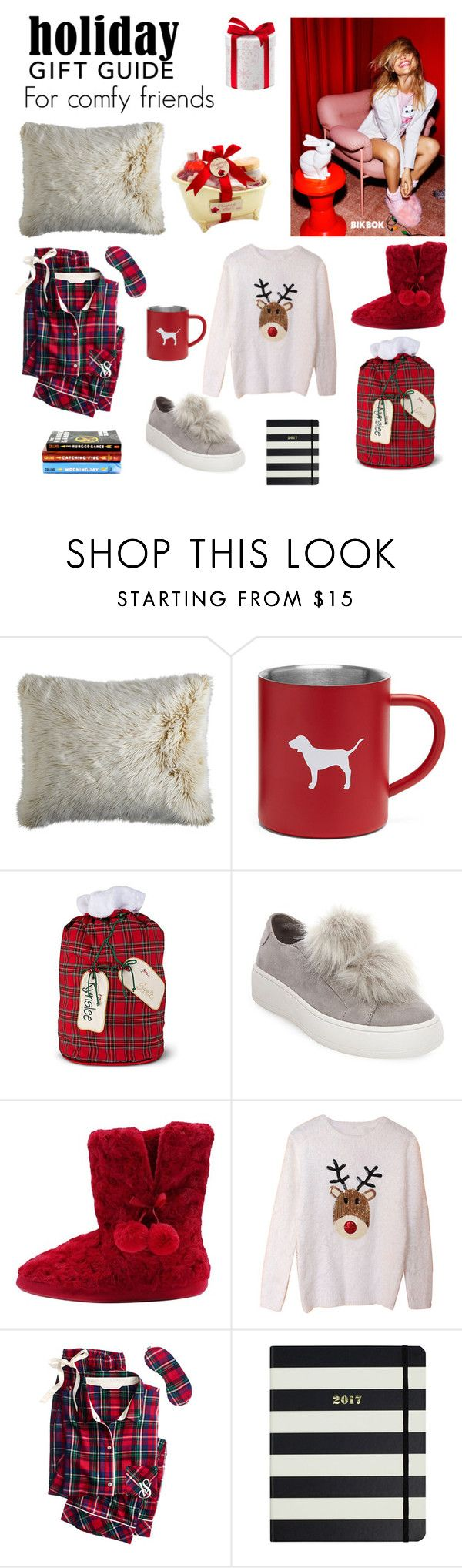 """Holiday gift guie 2"" by dorey on Polyvore featuring Pier 1 Imports, Improvements, Steve Madden, M&Co, Victoria's Secret, Kate Spade and Bik Bok"