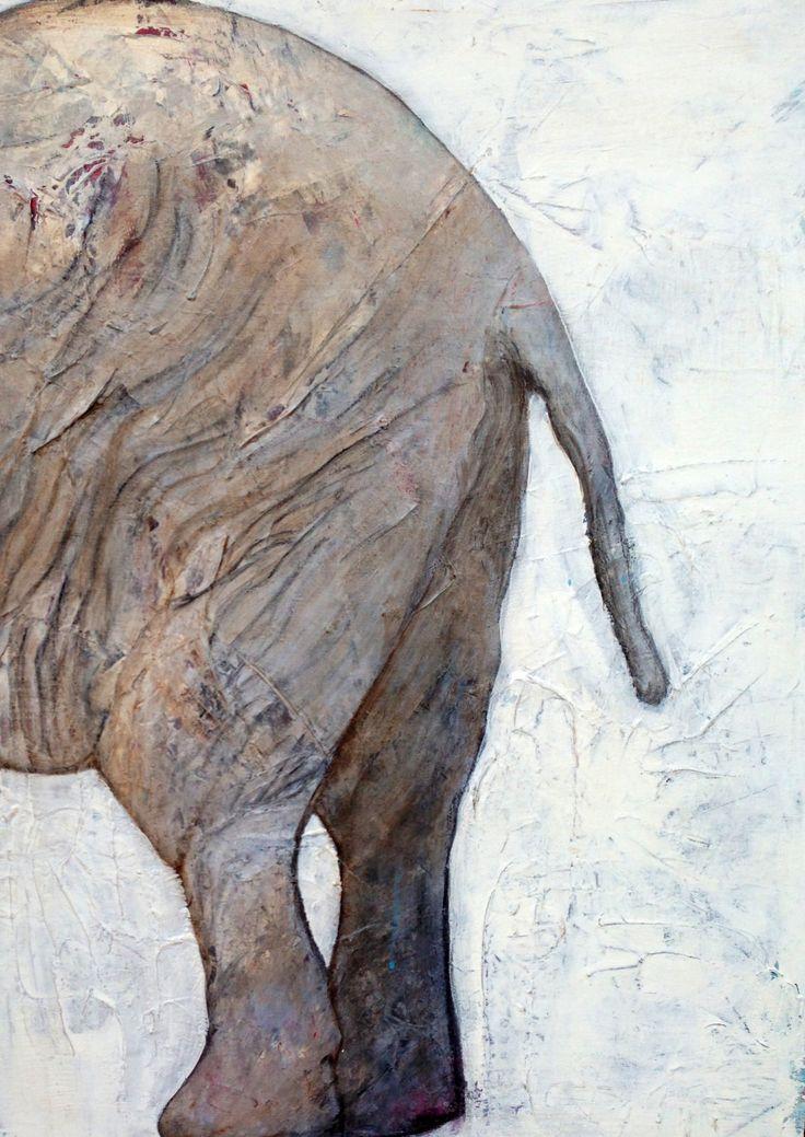 60 cm x 80 cm acryl by Marianne Nielsen