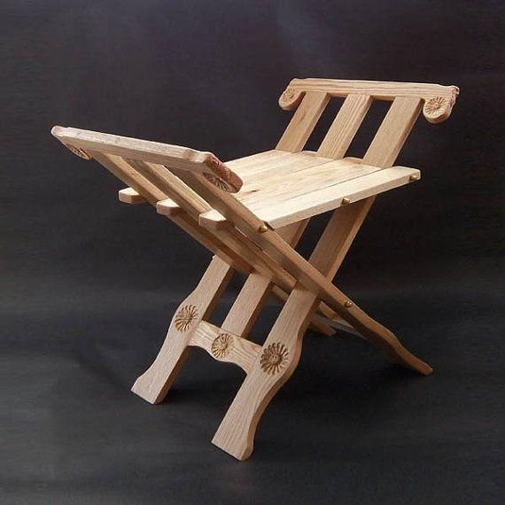 Chaise pliante de Style médiéval par roncook sur Etsy