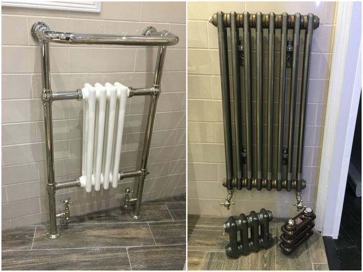 Morland Bathrooms offers personal advice and bespoke design plans. We also have an in house delivery service and can recommend high quality fitters. MetalliTraditional wall hung towel rail radiator, high quality chrome plated frame with a period style white column insert. #Traditional #Radiator #Towelrail #RadiatorDesign #Bathroom #LeedsBathroom #Interiordesign #BathroomDesign #Showerroom #MorlandBathroomsLeeds