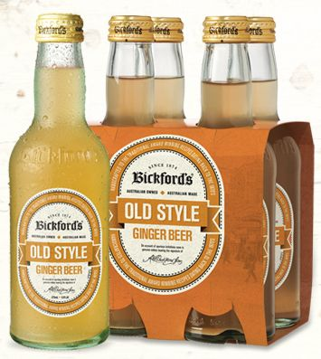 Bickford's traditional Ginger Beer is made from real brewed ginger, ensuring an authentic old fashioned ginger beer taste. Contains no artificial colours or flavours.