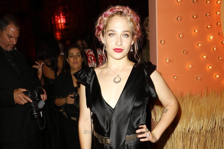 """""""Girls"""" starJemima Kirke was among the guests at the annual Gala event on Tuesday"""