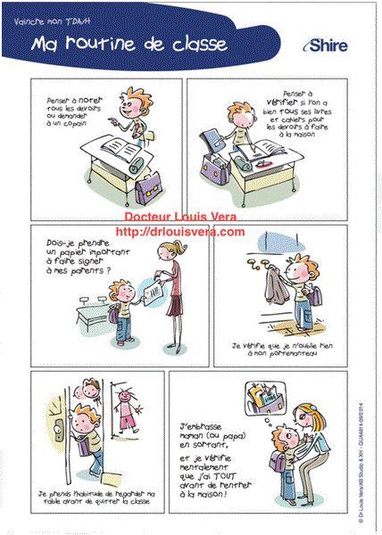 Fiches de TCC pour enfants et adolescents TDAH (L. Vera)