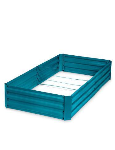 """Demeter Corrugated Metal Raised Bed, 34"""" x 68"""""""