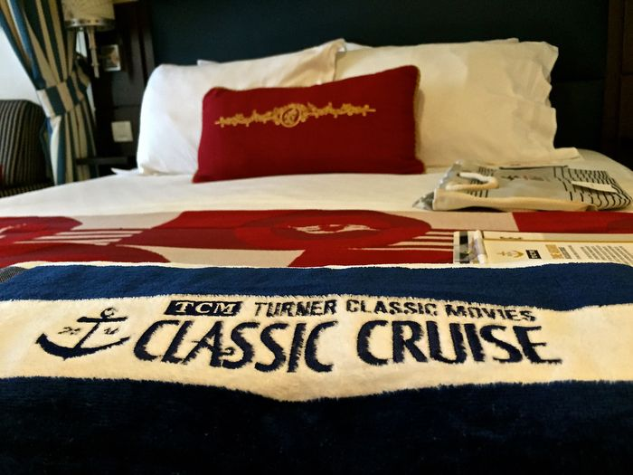 Our accommodations on the #TCMCruise on Disney Magic