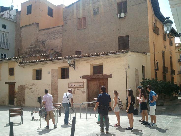 Caballerizas del palacio de los Escrivà. Ruta Camins Medievals. Valencia. CaminArt