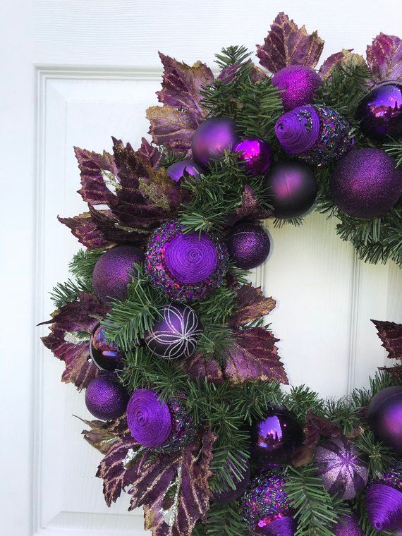 Pictures Of Decorated Christmas Wreaths