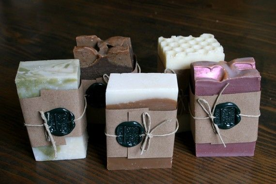 Fab Five Soap Pack by orangefuzz on Etsy, $29.00