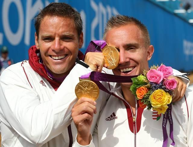 Rudolf Dombi & Roland Kökény - Men's Kayak Double (K2) 1000m | Gold Medalists.   http://www.budpocketguide.com