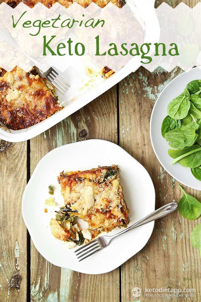 Vegetarian Keto Lasagna | Recipe | The o'jays, Vegetarian recipes and Low carb