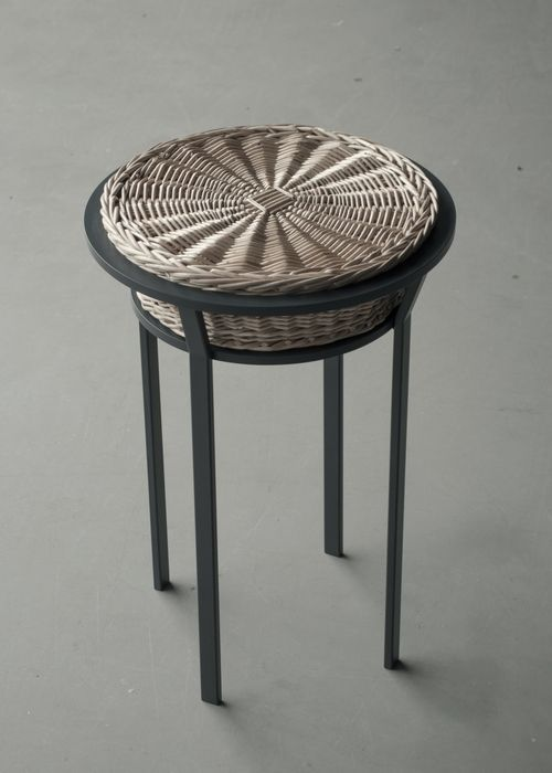 """Meet the Wicker"" stool by Chudy and Grase"