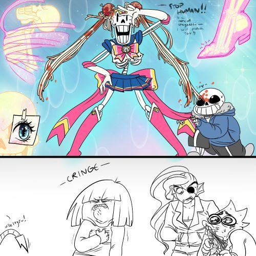 Sailor Papyrus - More at: Me Kago De Risa Help me Click Here! #memes #lol #funny #jokes