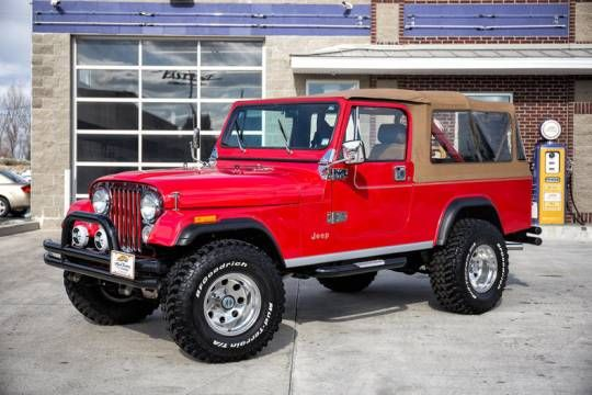 hemmings find of the day 1984 jeep cj8 scrambler the day the o 39 jays and jeeps. Black Bedroom Furniture Sets. Home Design Ideas