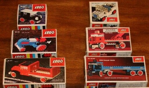 1960s Lego vehicles