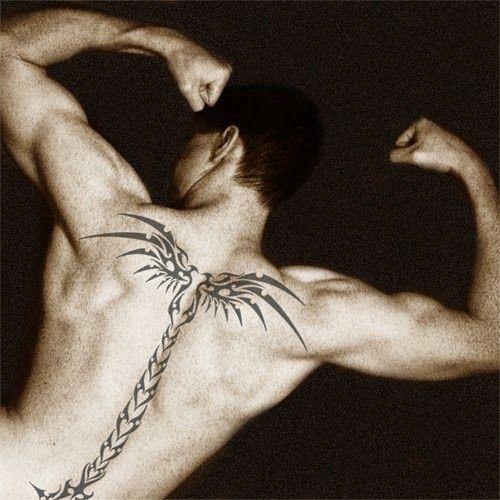 Spine Tattoo Images Designs: 51 Best Spine Tattoos For Men Images On Pinterest