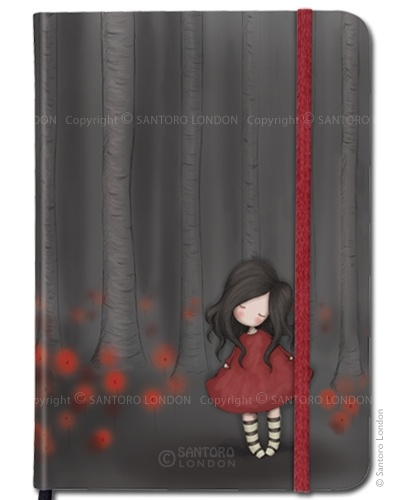 Gorjuss hardcover notebook