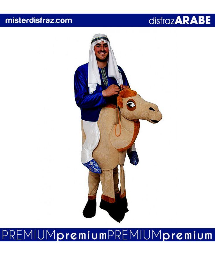 Disfraz de Árabe con Camello a Hombros. Viaja con tu mejor Camello en los mejores desiertos de estos Carnavales. Corre deprisa para encontrar al grupo de Árabes y para conseguir agua para los Camellos. #disfraz #disfraces #disfracesoriginales #disfracesdivertidos #disfracescachondos #disfracesgraciosos #disfrazadulto #disfrazarabeahombroscamello #arabeahombroscamello #carnaval #premium #disfracespremium #premiumoriginales #misterdisfraz
