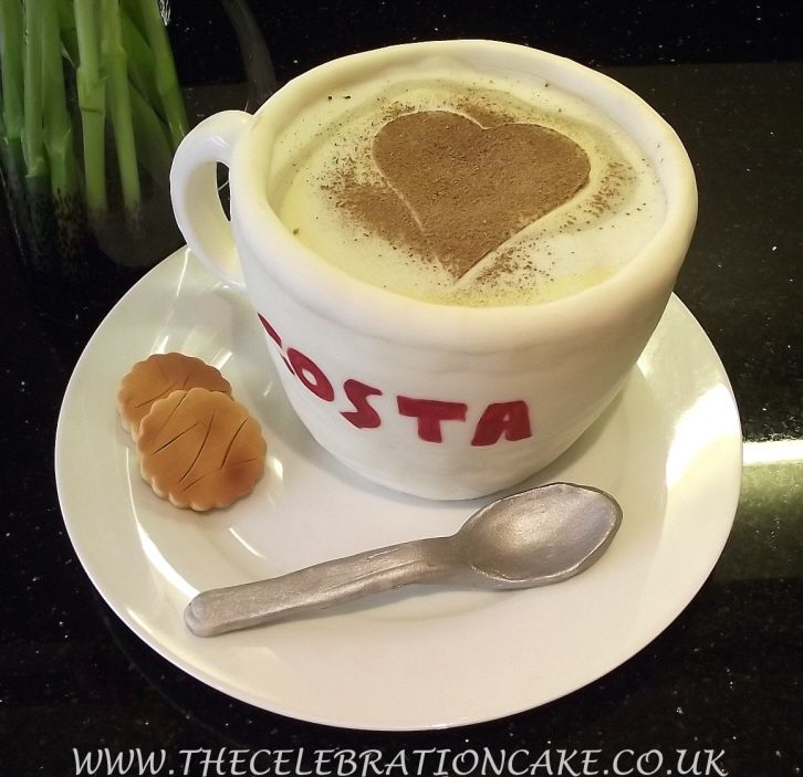 Specialised Celebration Cakes - COSTA Coffee Cups
