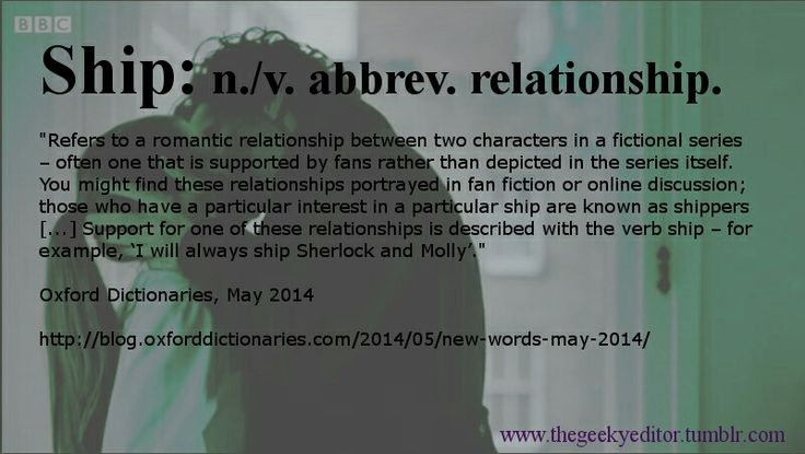Sherlolly shippers are finally officially recognised! :)