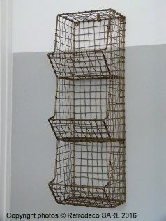Etagère murale 3 blocs métal, déco scandinave, Madam Stoltz