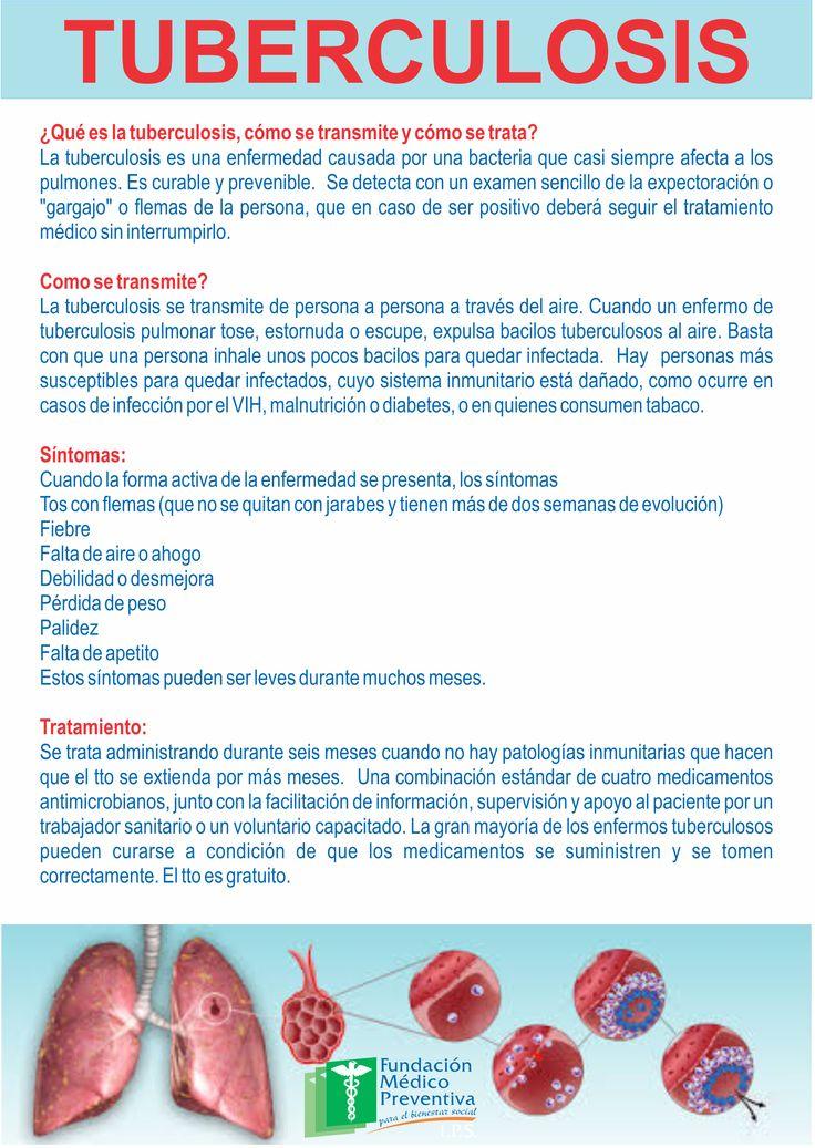#tuberculosis #salud #prevención #cuidados