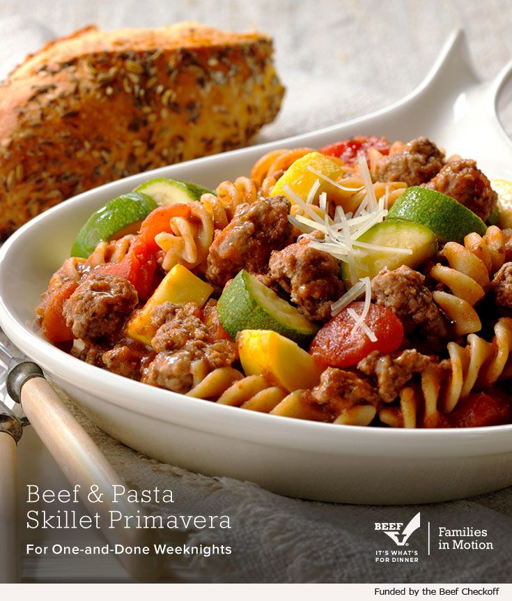 Need A Quick And Tasty Weeknight Meal This Beef Recipe Calls For Only Five Simple Ingredients One Skillet Family Ready To Ea