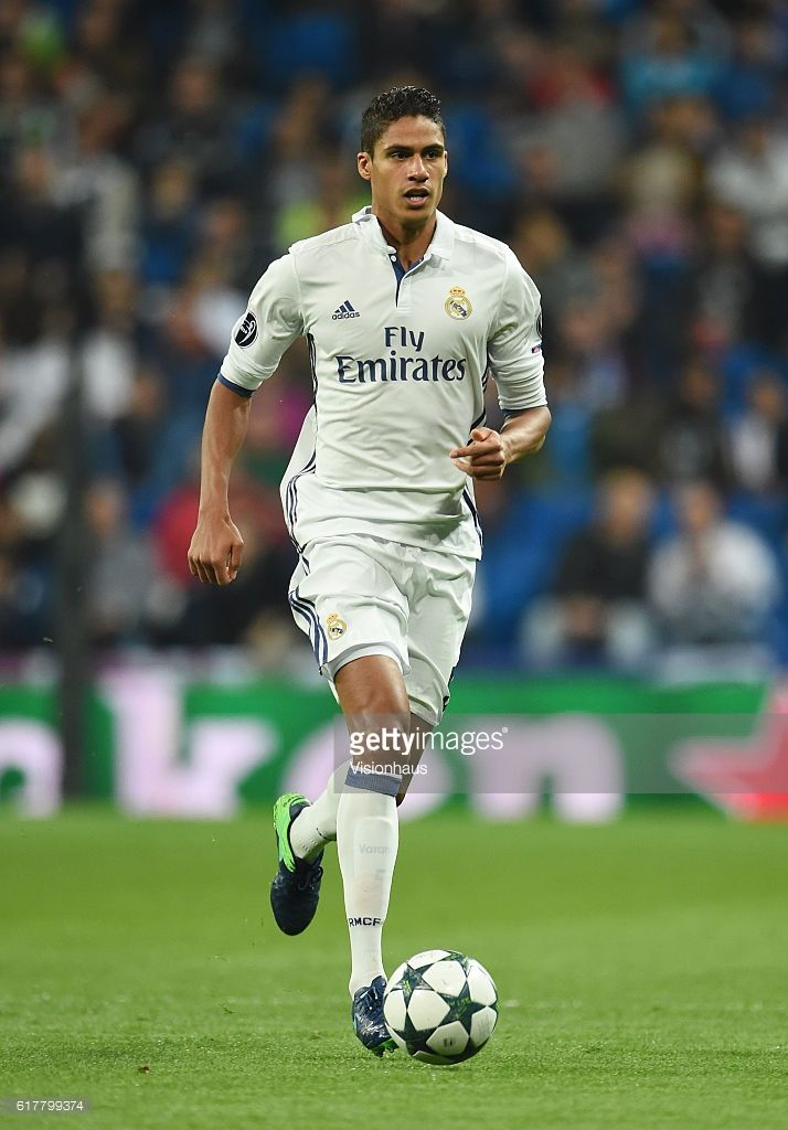 Raphaël Varane of Real Madrid during the UEFA Champions League Group F match between Real Madrid CF and Legia Warszawa at Bernabeu on October 18, 2016 in Madrid, Spain.