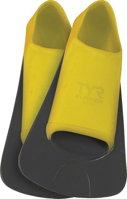 Other Swimming 36269: Tyr Burner Ebp Swim Fin: Yellow Mens Md Fits Men S 7-9 Women S 8.5- 10.5 -> BUY IT NOW ONLY: $38.77 on eBay!