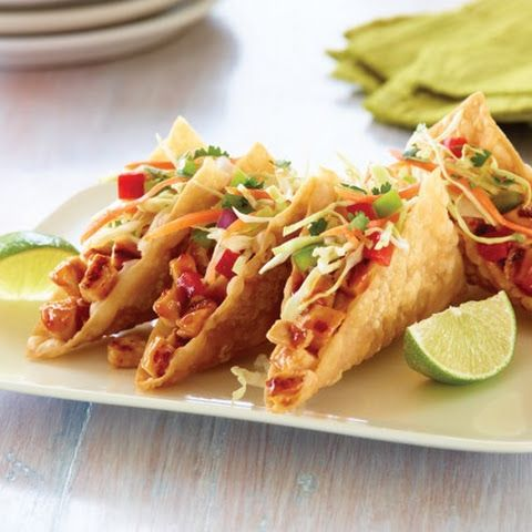 Applebees Chicken Wonton Tacos (Copy-cat)