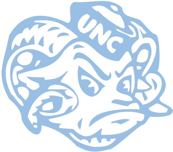 Tarheels Basketball Logo North Carolina Tar Heels