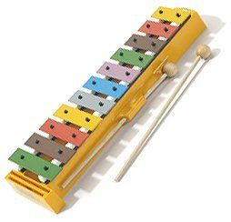 Hohner Kids / Glockenspiel (Xylophone) with Songbook by Hohner Kids. $28.12. Eleven multi-colored bars are precision tuned in Germany and classroom tested. A fun and easy way to make vibrant music! Includes songs to play along with.. Save 30%!