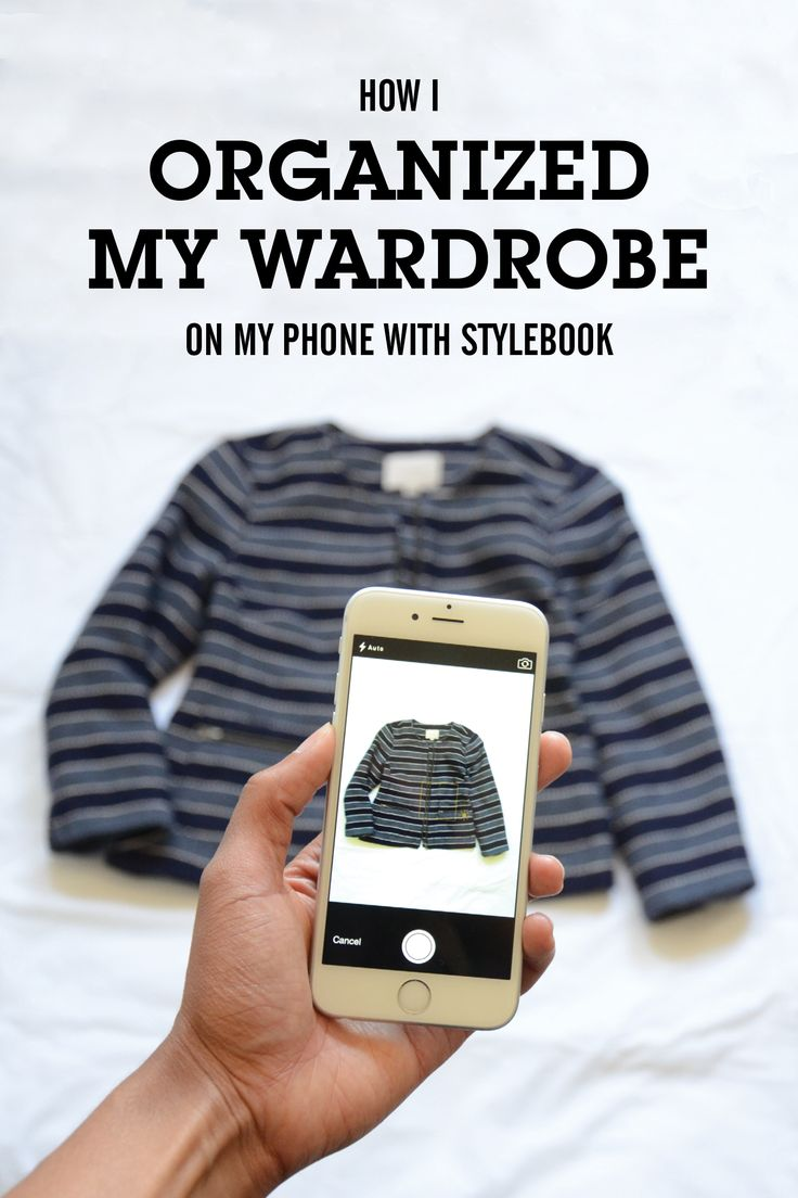 Why I'm obsessed with closet management - How I organize my clothes and save outfits on my phone