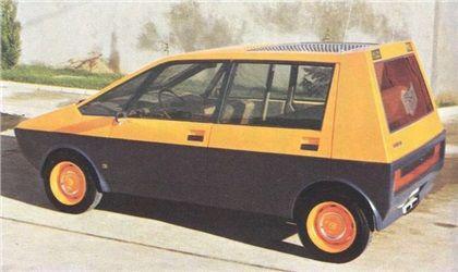Heuliez Peugeot 204 Taxi H4, 1972