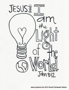 83 best Children\'s Bible Verse Coloring Pages images on Pinterest ...