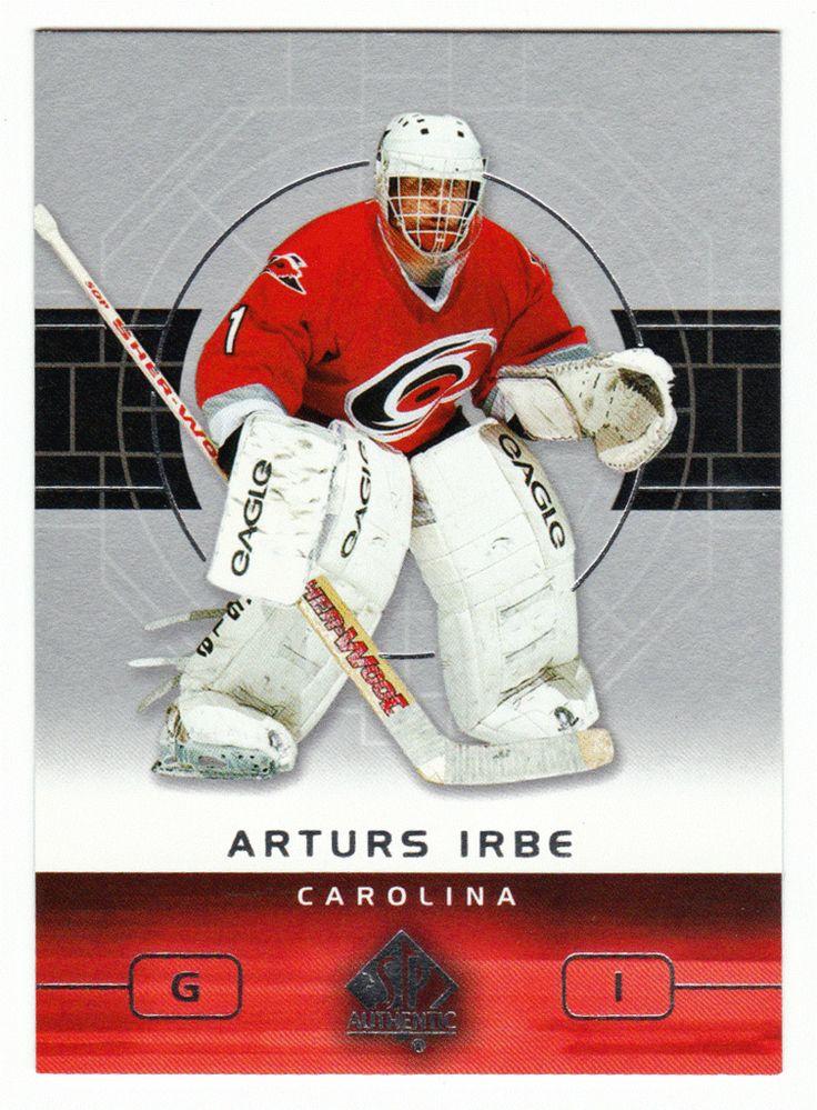 Arturs Irbe # 14 - 2002-03 Upper Deck SP Authentic Hockey