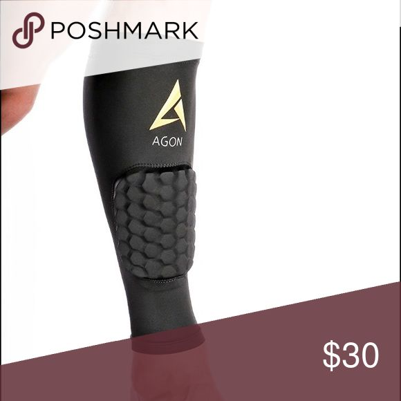 """Agon Leg / Calf Compression Sleeve [CA201Y] Through padded compression sleeve, you can forget about scratches or bruises and abrasions while you're on the trail. Also, It reduces chances of swelling and the dirt only gets collected on your sleeves, not your body. It will limit swelling especially for the people who spend a lot of time on their feet.  Material: 85% Nylon + 15% Spandex  Measurement circumference of your calf in a relaxed position.  Small: 12.5-14""""  Medium: 14-15.5"""":  Large…"""