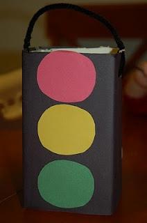 Traffic Light Craft: Great for spotlighting Garrett Morgan and Black History Month!