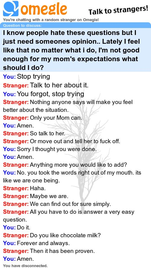 Best omegle chats