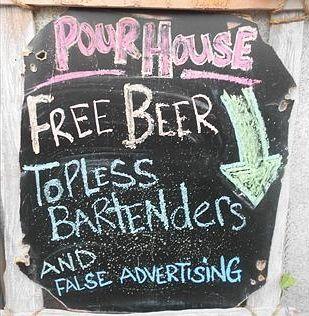 False advertising? #freebeer