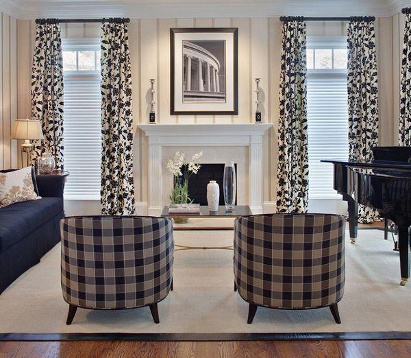 Moderne Raffrollos Wohnzimmer. stattliche raffrollos in ...