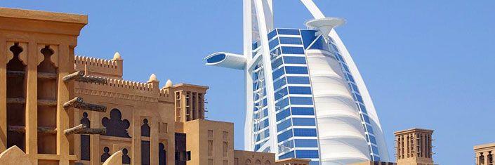 Dubai (Emiratos Árabes) - Icono de modernidad y ostentación, es tu destino ideal si amas ir de compras o si buscas experiencias únicas, como esquiar a dos pasos del desierto.