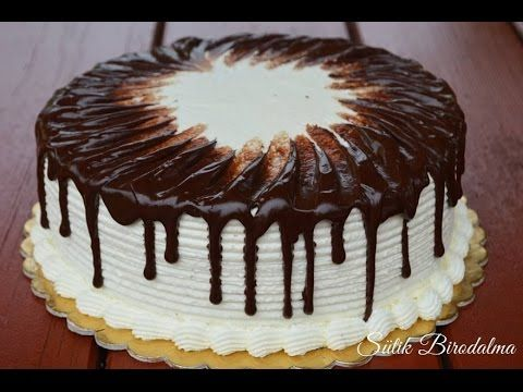 Tejszínes málnatorta elkészítése recepttel - Sütik Birodalma - YouTube
