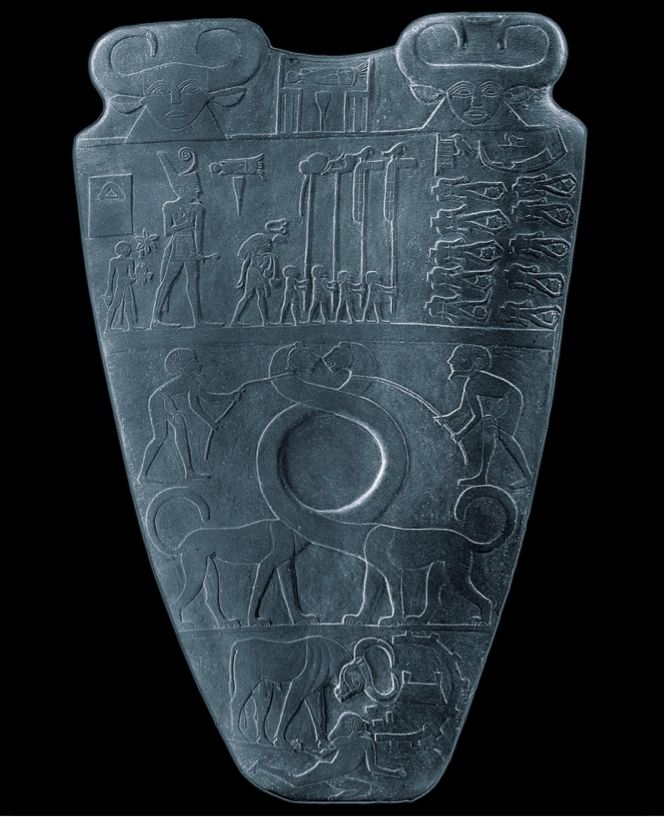 an introduction to the history of king narmers palette in ancient egypt The narmer palette is intricately carved to tell the story of king narmer's victory in  battle and the approval of the gods at the unification of egypt.