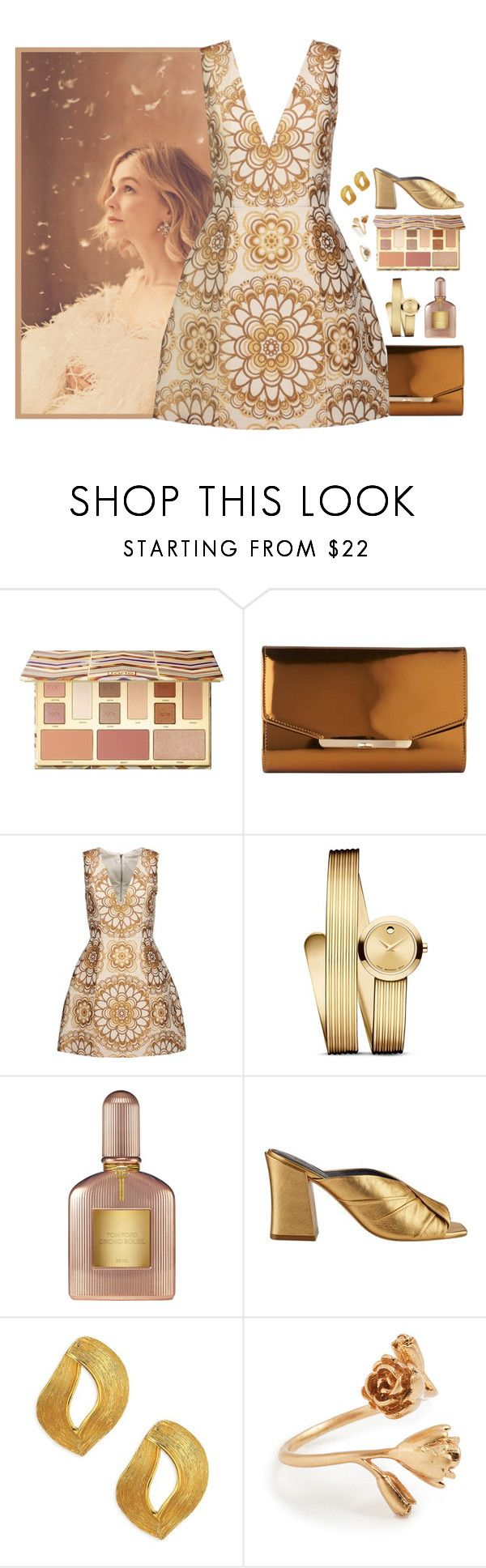 """815"" by helenelle ❤ liked on Polyvore featuring Sephora Collection, L.K.Bennett, Alice + Olivia, Movado, Sigerson Morrison, Oscar de la Renta and Madewell"