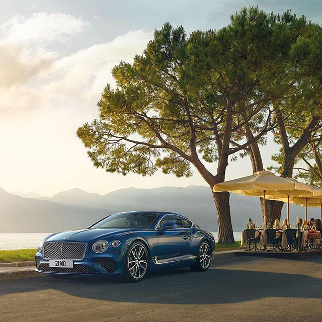 "#repost @bentleymotors - The new #ContinentalGT is an agile grand tourer with unrivalled road presence. Pictured in Sequin Blue with 22"" Black and Polished Edge Alloy Wheels. @bentleylajolla #bentleylajolla carswithoutlimits,lifestyleblog,ogara,v8,instagood,speed,uk,design,supersports,bentleygt,repost,amazingcars247,coupe,carstagram,continentalgt,blacklisted,luxury,heritage,carlifestyle,black_list,w12,lajolla,bentley,drive,drivetastefully,amazing_cars,instadaily,bentleylajolla,sandiego,crewe…"