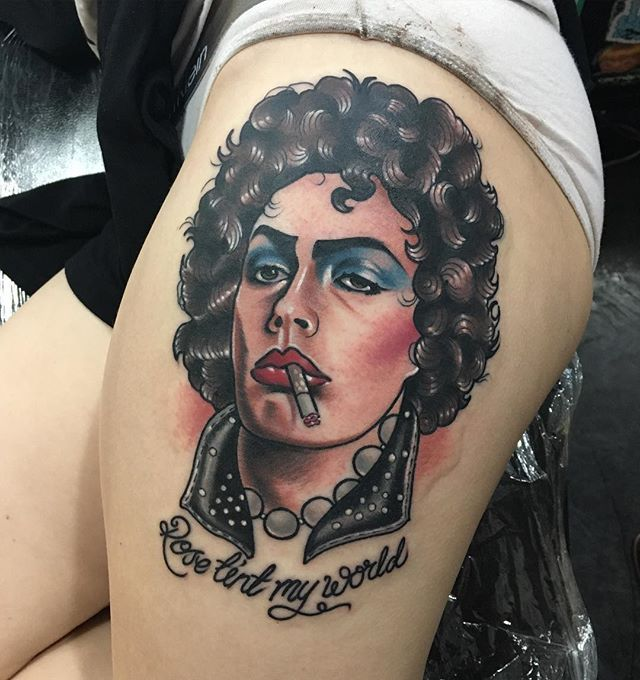 Tim Curry from Rocky Horror Picture Show, Thankyou so much Danielle!
